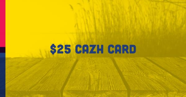 $25 Cazh card
