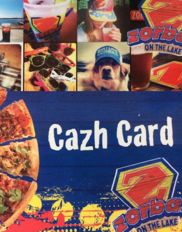 Cazh Card